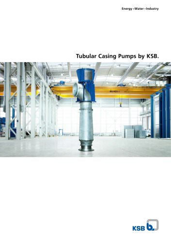Tubular Casing Pumps by KSB.