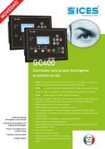 GC400 - Controlador para grupos electrógenos en paralelo en isla - 1