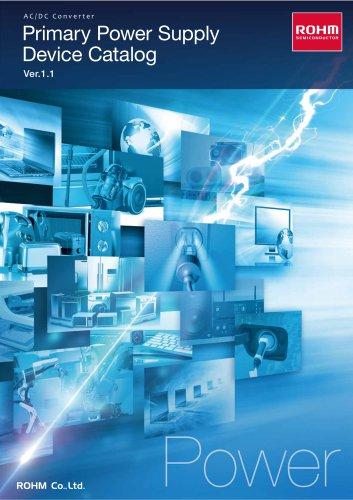 Primary Power Supply Device Catalog