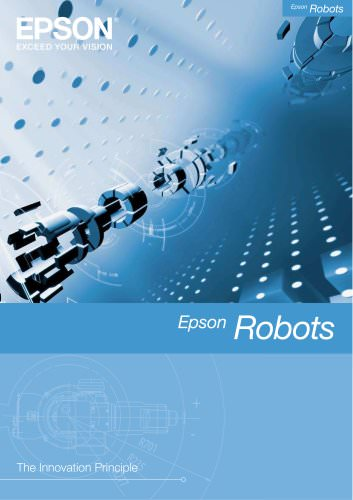 Epson robot brochure