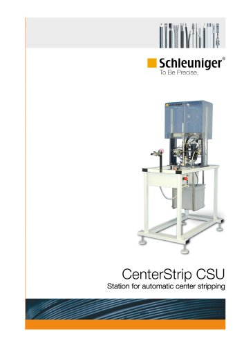 CenterStrip CSU Station for automatic center stripping