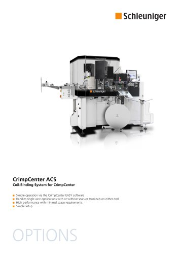 CrimpCenter ACS Datasheet