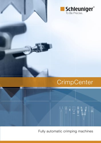 CrimpCenter fully automatic crimping machines