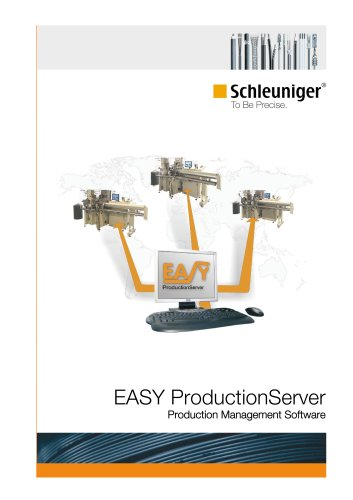 EASY ProductionServer Production Management Software