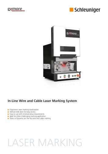 Laser Marking System Data Sheet
