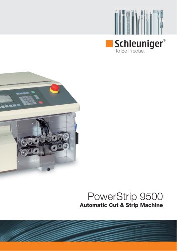 PowerStrip 9500 automatic wire cut & strip machines