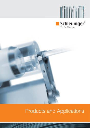 Schleuniger All Products Brochure