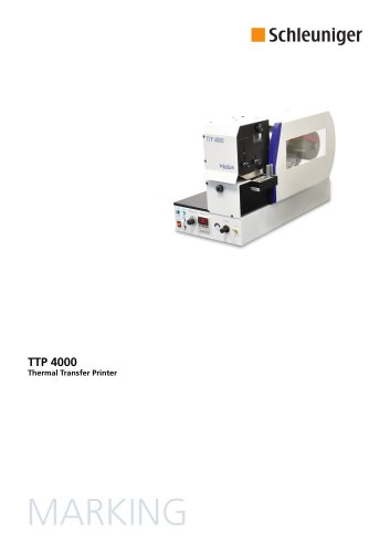 TTP 4000 Data Sheet