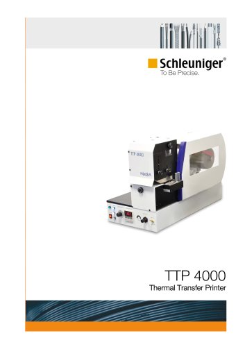 TTP 4000 Thermal Transfer Printer