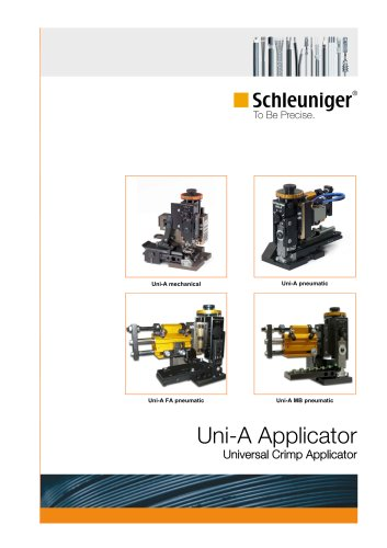 Uni-A Universal crimp applicator