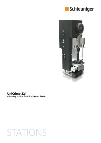 UniCrimp 221 Datasheet