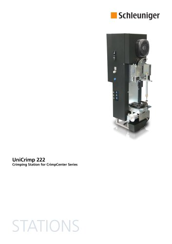 UniCrimp 222 Datasheet