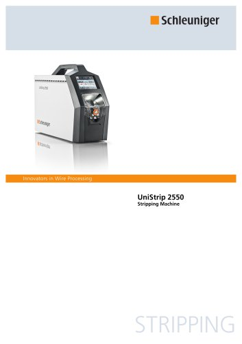UniStrip 2550 - Stripping Machine