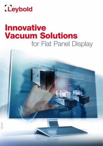 Innovative Vacuum Solutions For flat screen umbrellas