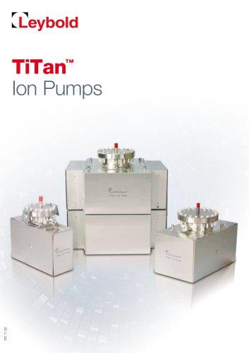 Ion Getter Pumps