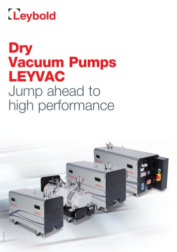 LEYVAC - The new dry solution