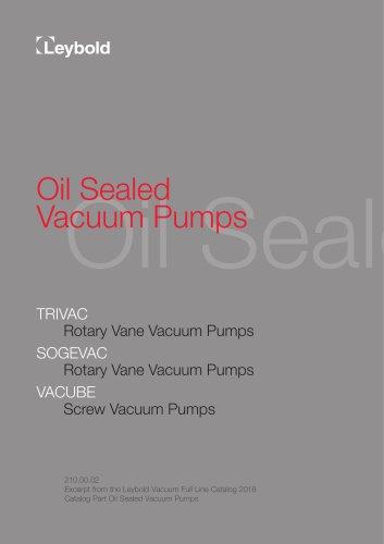 Oil Sealed Vacuum Pump
