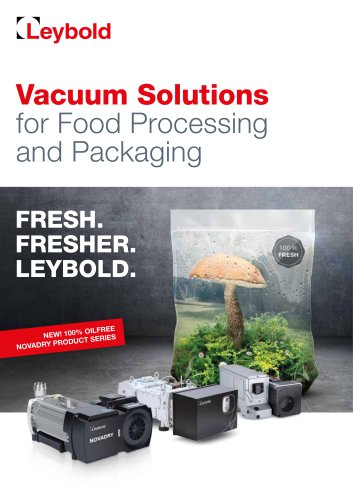 Vacuum Solutions for Food & Packaging