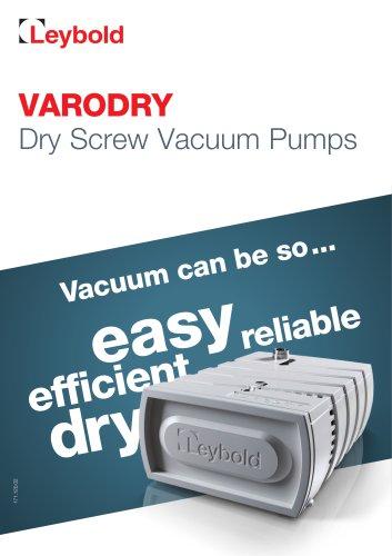 VARODRY Dry Screw Vacuum Pump