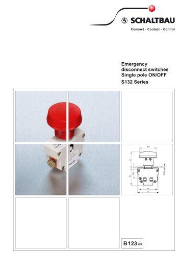 Emergency disconnect switch S132