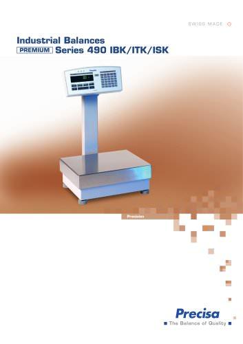 490K Series Scales:
