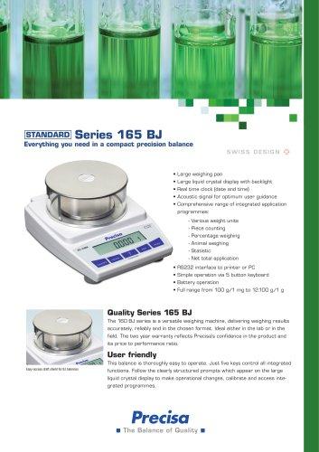 BJ 165 Series Compact balance
