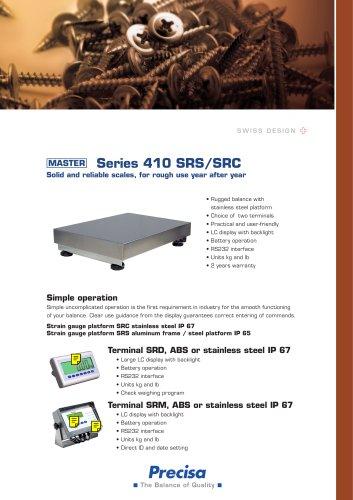 Industrial scales Series 410