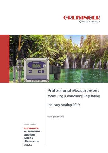 GHM Greisinger – Industry Catalog 2019
