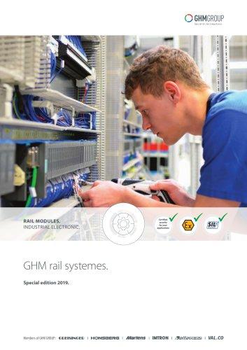 GHM Rail modules special edition 2019