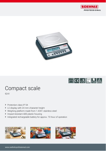 9241 Compact scale