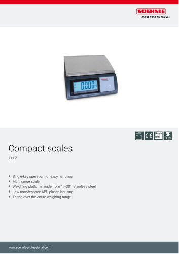 9330 Check weighing scale