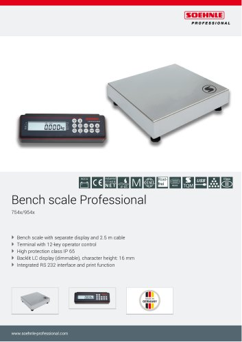 Bench scale Professional