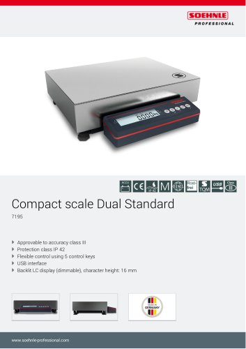 Compact scale Dual Standard