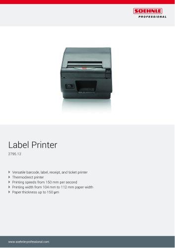 Label printer 2795.12 _ 2795.14