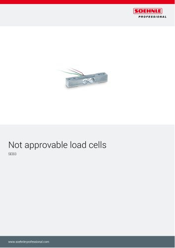 Not approvable load cells