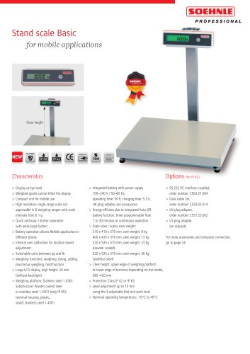 Stand scale Basic
