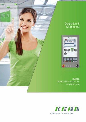 KeTop – Smart HMI solutions for machine tools