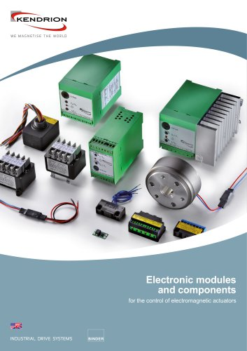Electronic modules and components