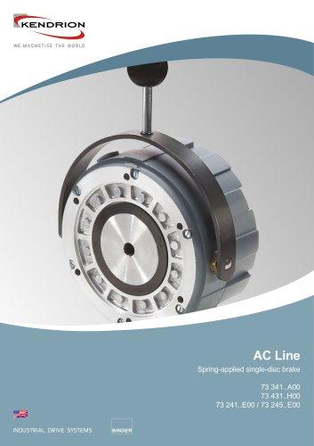 Spring-applied brake - AC Line
