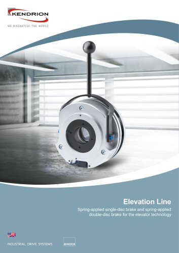 Spring-applied brake - Elevation Line