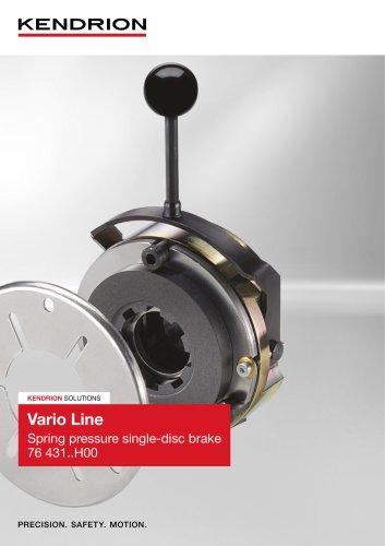Spring-applied brake - Vario Line (English)