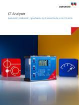CT Analyzer - Evaluación, calibración y pruebas de los transformadores de corriente