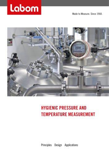 HYGIENIC PRESSURE AND TEMPERATURE MEASUREMENT