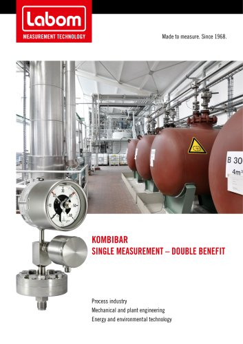 Kombibar, single measurement - double benefit