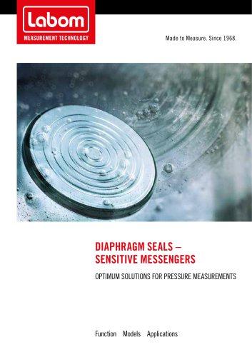 LABOM Diaphragm seal brochure - process connection portfolio