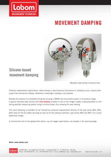Movement damping