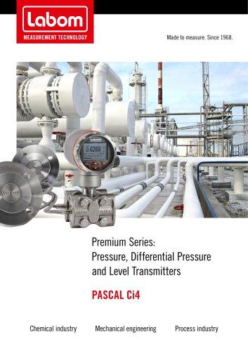 Pressure transmitter series PASCAL Ci4- Premium devices