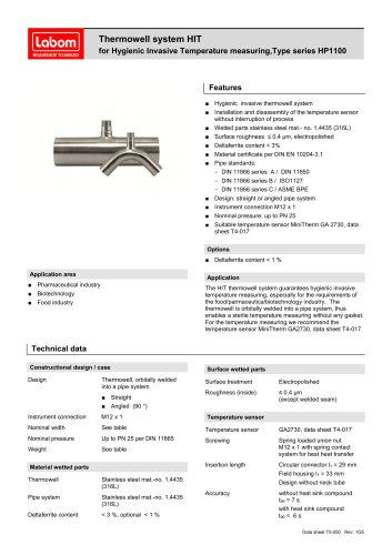TYPE SERIES HP1100