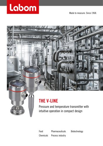 V-Line - Digital transmitter with intuitive operation in compact design