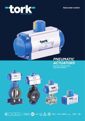 TORK Pneumatic Actuators